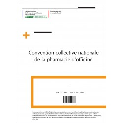 Convention collective nationale de la pharmacie d'officine + Grille de salaire Mars 2018