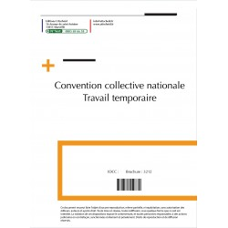 Convention collective nationale Travail temporaire Avril 2018 + Grille de Salaire
