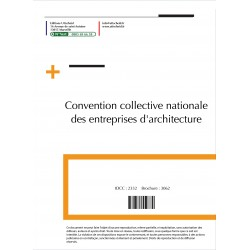 Convention collective nationale Architecte 2015 + Grille de Salaire