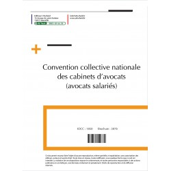 Convention collective nationale Cabinets Avocats janvier 2018 + Grille de Salaire
