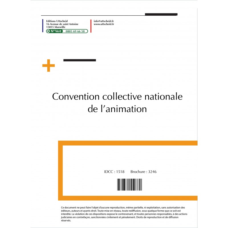 Convention collective nationale Animation 2015 + Grille de Salaire