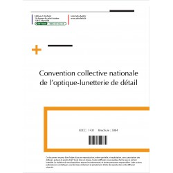 Convention collective nationale Optique décembre 2017 + Grille de Salaire