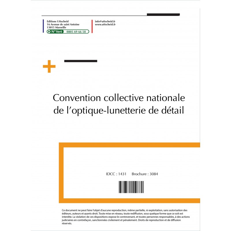 Convention collective nationale Optique 2015 + Grille de Salaire