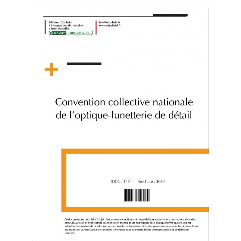 Convention collective nationale Optique 2015 + Grille de Salaire