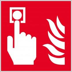 Panneau point d'alarme incendie