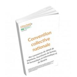 Convention collective nationale de la librairie OCTOBRE 2017 + Grille de Salaire