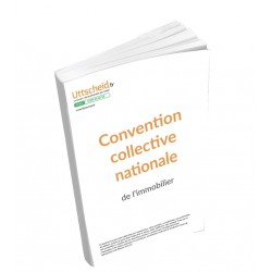 Convention collective nationale Immobilier Avril 2018 + Grille de Salaire