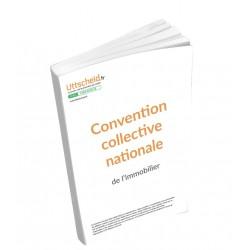 Convention collective nationale Immobilier Février 2018 + Grille de Salaire