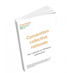 Convention collective nationale des cabinets et cliniques vétérinaires Septembre 2018 + grille de salaire