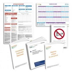 Pack de mise en conformité complet  : Tertiaire, bureaux, administrations