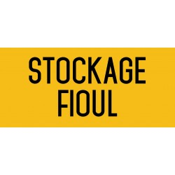 Stockage fioul - L.200 x H.100 mm