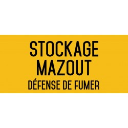 Stockage mazout - L.200 x H.100 mm