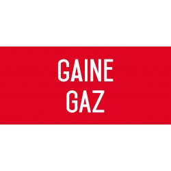 Gaine gaz - L.200 x H.100 mm