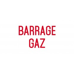 Barrage gaz - L.200 x H.100 mm