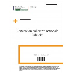 Convention collective nationale Publicité Septembre 2018 + Grille de Salaire