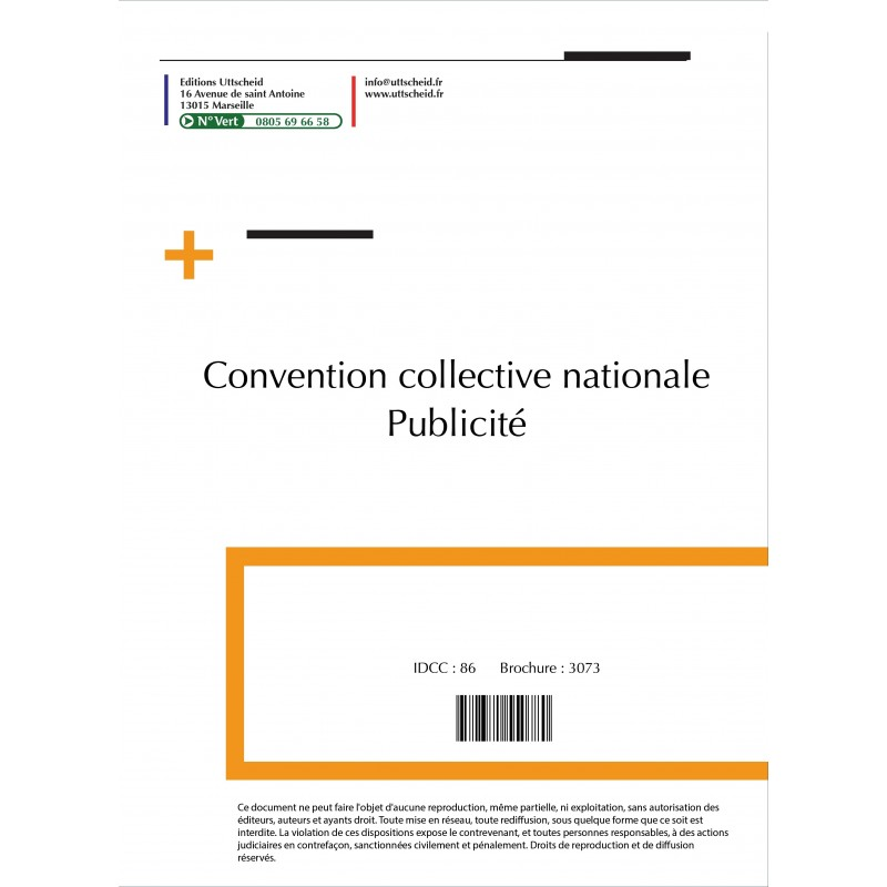 Convention collective nationale publicité + Grille de Salaire