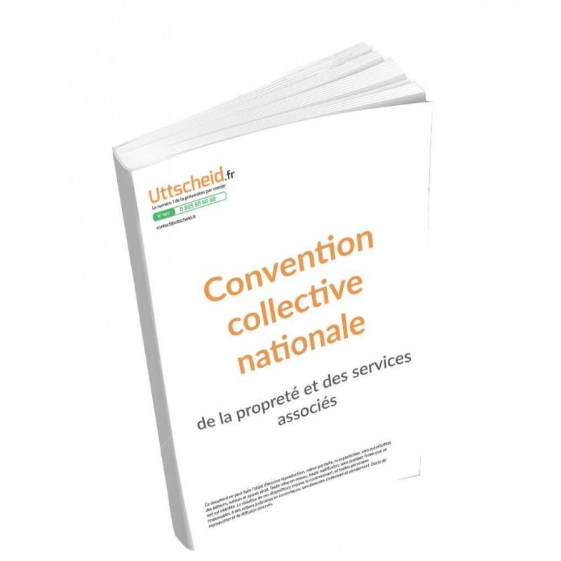 Convention collective nationale des entreprises de propreté et services associés 2015 + Grille de Salaire