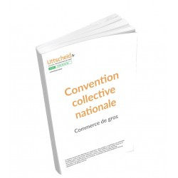 Convention collective nationale Commerce de gros 2015 + Grille de Salaire