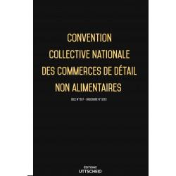 Convention collective nationale des commerces de détail non alimentaires Mars 2018 + Grille de Salaire