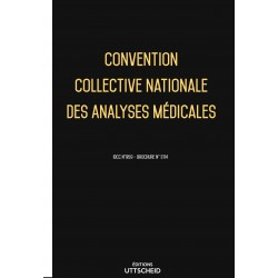 Convention collective analyses médicales Avril 2018 + Grille de Salaire