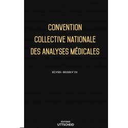 Convention collective analyses médicales Septembre 2018 + Grille de Salaire