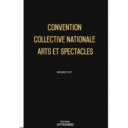 Convention collective nationale Arts et spectacles Avril 2018 + Grille de Salaire