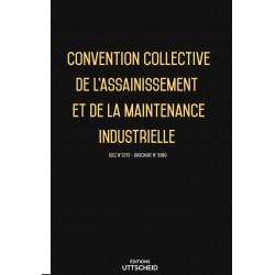 Convention collective de l'assainissement et de la maintenance industrielle Avril 2018 + Grille de Salaire