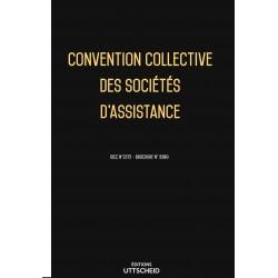 Convention collective des sociétés d'assistance des sociétés d'assistance  OCTOBRE 2017 + Grille de Salaire