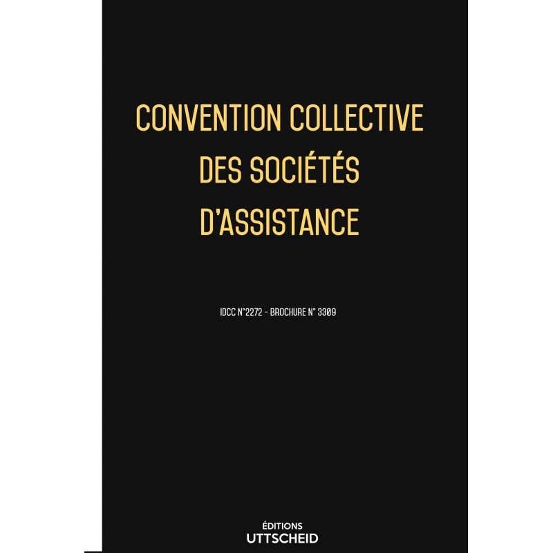 Convention collective des sociétés d'assistance des sociétés d'assistance  FEVRIER 2017 + Grille de Salaire