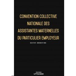Convention collective nationale des assistantes maternelles du particulier employeur OCTOBRE 2017 + Grille de Salaire