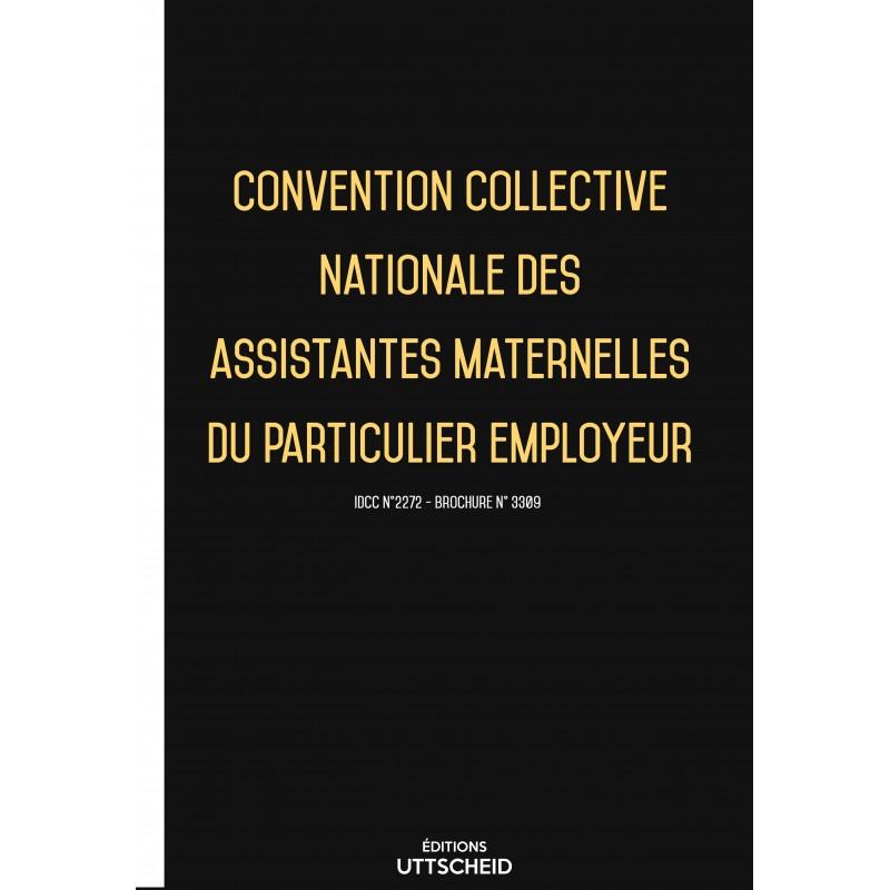 Convention collective nationale des assistantes maternelles du particulier employeur FEVRIER 2017 + Grille de Salaire