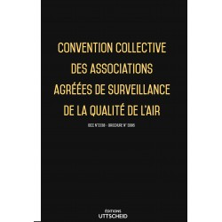 Convention collective des associations agréées de surveillance de la qualité de l'air Avril 2018 + Grille de Salaire