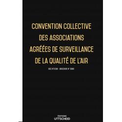 Convention collective des associations agréées de surveillance de la qualité de l'air janvier 2018 + Grille de Salaire
