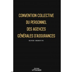 Convention collective du personnel des agences générales d'assurances Avril 2018 + Grille de Salaire