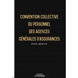 Convention collective du personnel des agences générales d'assurances décembre 2017 + Grille de Salaire