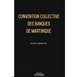 Convention collective des banques de Martinique janvier 2018 + Grille de Salaire