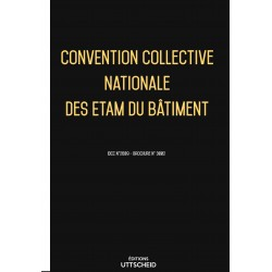 Convention collective nationale des ETAM du bâtiment + grille de salaire Avril 2018