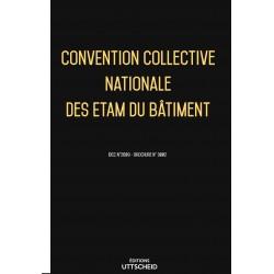 Convention collective nationale des ETAM du bâtiment + grille de salaire Février 2018