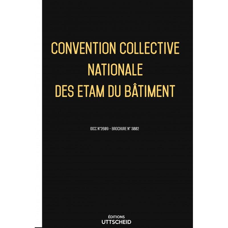 convention collective nationale des etam du b timent mai 2017 grille de salaire editions. Black Bedroom Furniture Sets. Home Design Ideas