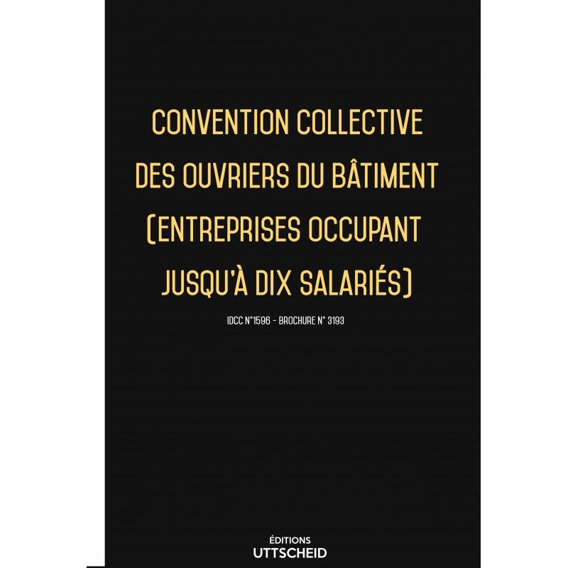 convention collective des ouvriers du bâtiment (entreprises occupant jusqu'à dix salariés) FEVRIER 2017 + Grille de Salaire