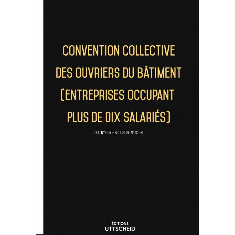 Convention collective des ouvriers du bâtiment (entreprises occupant plus de dix salariés)  + Grille de Salaire