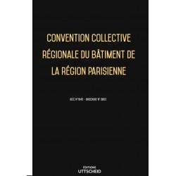 Convention collective régionale du bâtiment de la région parisienne Avril 2018 + Grille de Salaire
