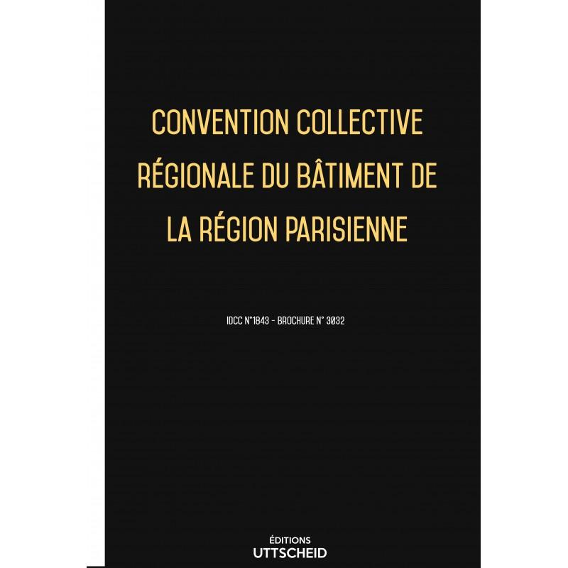 Convention collective régionale du bâtiment de la région parisienne FEVRIER 2017 + Grille de Salaire