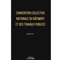 Convention Collective Nationale du bâtiment et des travaux publics Septembre 2018 + Grille de Salaire