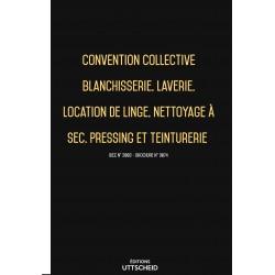 Convention collective Blanchisserie  FEVRIER 2017 + Grille de Salaire