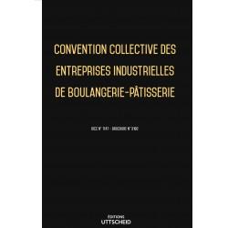 Convention collective des entreprises industrielles de boulangerie-pâtisserie Septembre 2018 + Grille de Salaire