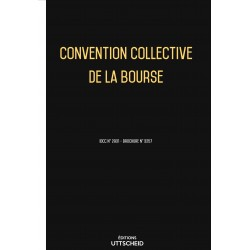 Convention collective de la bourse Avril 2018 + Grille de Salaire