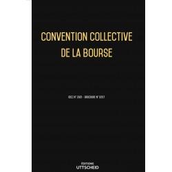 Convention collective de la bourse OCTOBRE 2017 + Grille de Salaire