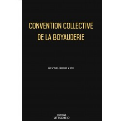 Convention collective de la boyauderie Septembre 2018 + Grille de Salaire
