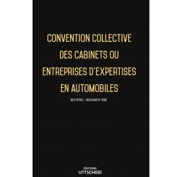 Convention collective des cabinets ou entreprises d'expertises en automobiles Septembre 2018 + Grille de Salaire